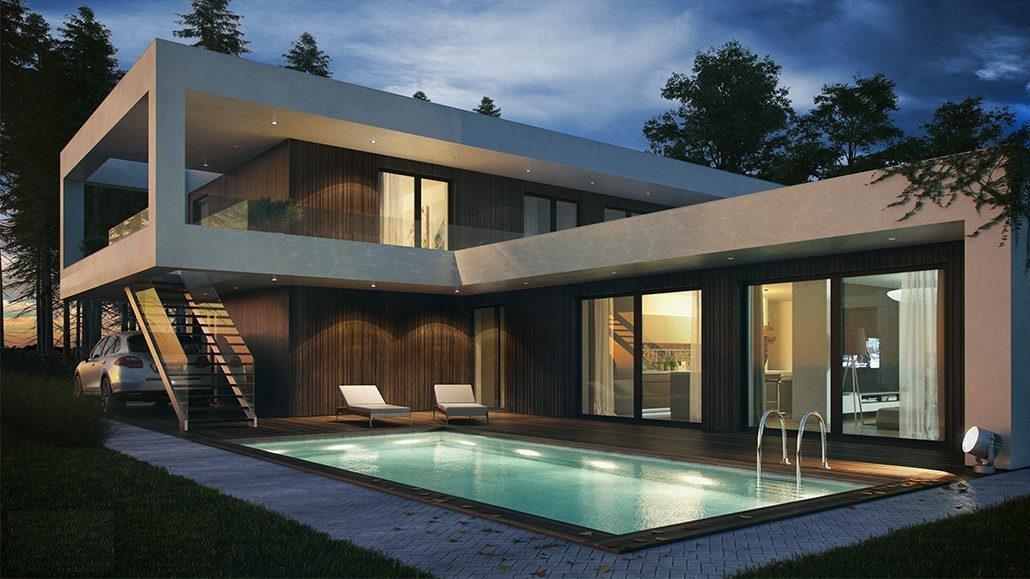budova kterou vám může postavit modasy stavební firma kladno